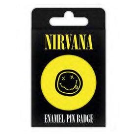 Nirvana Smiley - Enamel Pin Badge Set