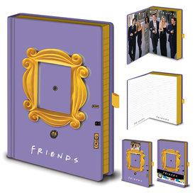 Friends Photo Frame - Premium A5 Notebook
