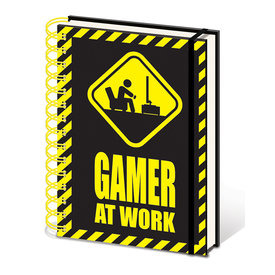 Gamer At Work - A5 Notitieboek