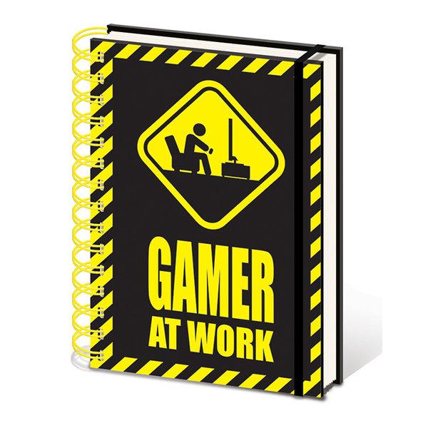 Gamer At Work - A5 Notebook