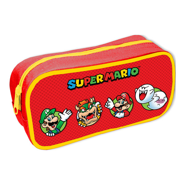 Super Mario Character Circles - Pencil Case