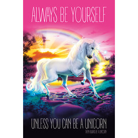 Unicorn Always Be Yourself - Maxi Poster