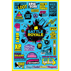 Battle Royale Infographic - Maxi Poster