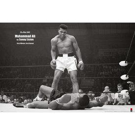 Muhammad Ali Vs Sonny Liston - Maxi Poster