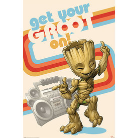 Guardians Of The Galaxy Get Your Groot On - Maxi Poster