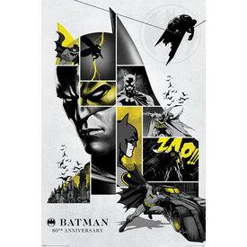 Batman 80th Anniversary - Maxi Poster