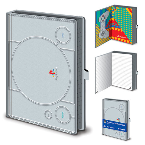 Playstation PS1 - Premium A5 Notebook