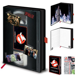 Ghostbusters VHS - Premium A5 Notebook