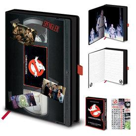 Ghostbusters VHS - Premium A5 Notitieboek