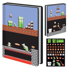 Super Mario Level Builder - Premium A5 Notitieboek