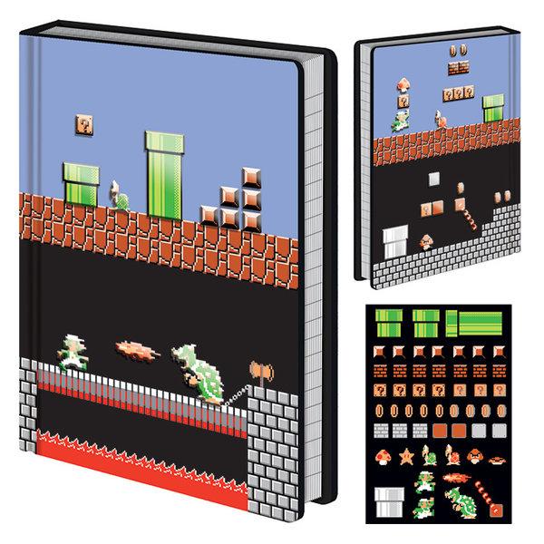 Super Mario Level Builder  - Premium A5 Notebook