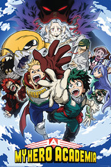 Products tagged with boku no hero academia poster