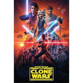 Star Wars The Clone Wars The Final Season - Maxi Poster