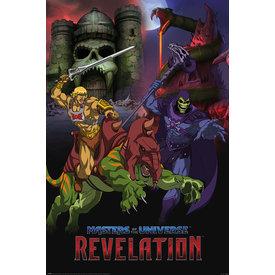 Masters Of The Universe Revelation Good vs Evil - Maxi Poster