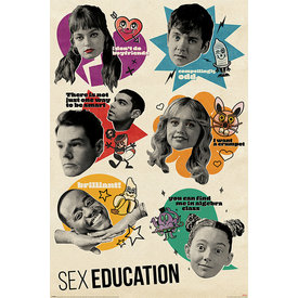 Sex Education Don't Quote Me On That - Maxi Poster