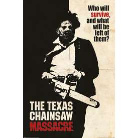 Texas Chainsaw Massacre Who Will Survive - Maxi Poster