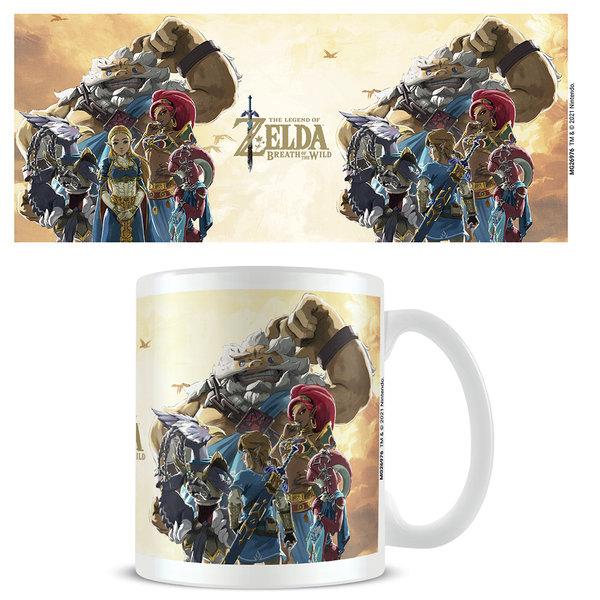 The Legend Of Zelda Breath Of The Wild Champions Sunset - Mug