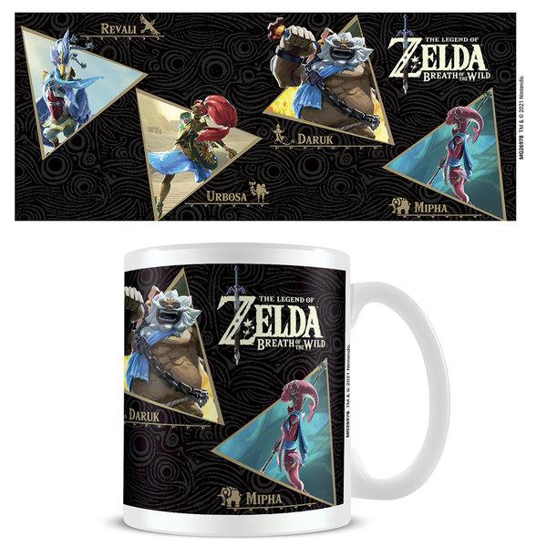 The Legend Of Zelda Breath Of The Wild Champions - Mug
