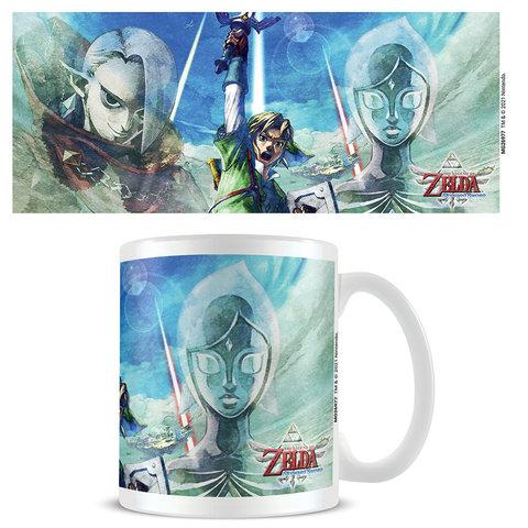 The Legend Of Zelda Skyward Sword Trio - Mug
