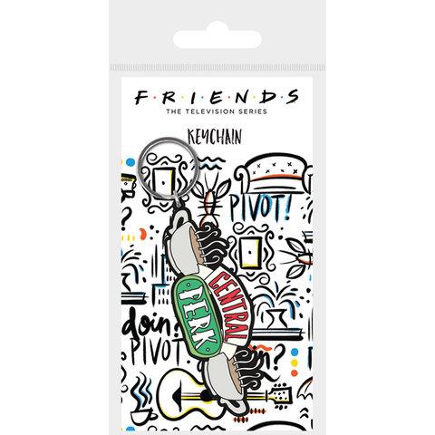 Friends Central Park Sketch - Keyring