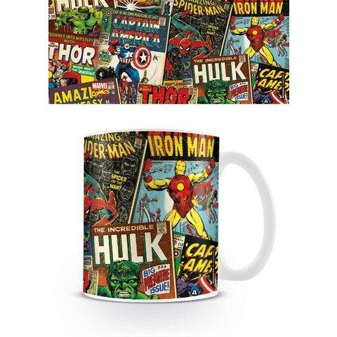 Marvel Retro Covers - Mug