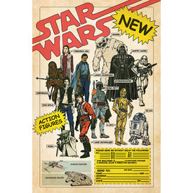 Star Wars Action Figures - Maxi Poster