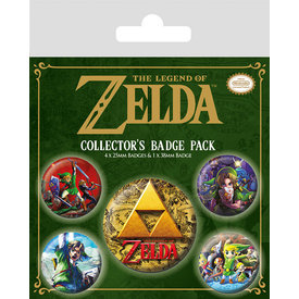 The Legend Of Zelda Classics - Badge Pack