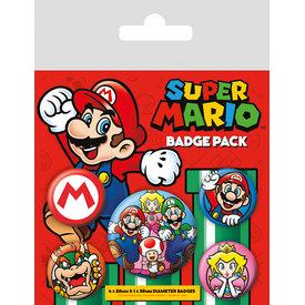 Super Mario - Badge Pack