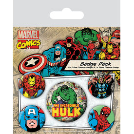 Marvel Comics Hulk - Badge Pack