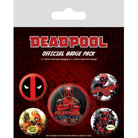 Deadpool Outa The Way - Badge Pack