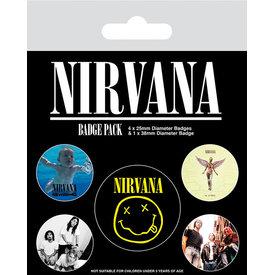 Nirvana - Badge Pack