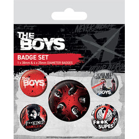 The Boys Stenciled - Badge Pack
