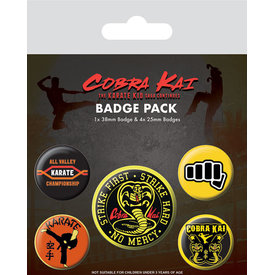 Cobra Kai No Mercy - Badge Pack