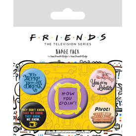 Friends Quotes - Badge Pack