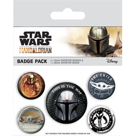 Star Wars The Mandalorian This Is The Way - Badge Pack