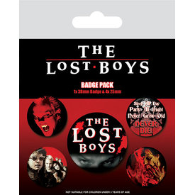 The Lost Boys Blood And Shadow - Badge Pack
