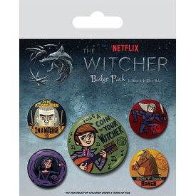 The Witcher Slayer - Badge Pack