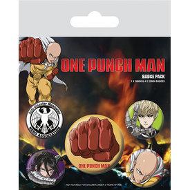 One Punch Man Destructive - Badge Pack