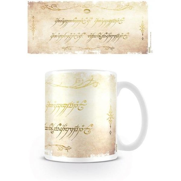 The Lord of the Rings Ring Inscription - Mug