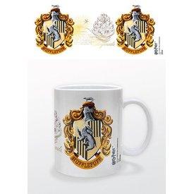 Harry Potter Hufflepuff Crest - Mug