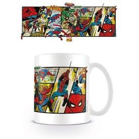 Marvel Retro Spiderman Panels - Mok