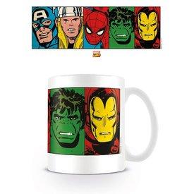 Marvel Retro Faces - Mug