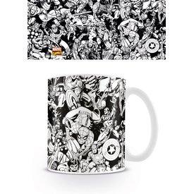 Marvel Retro Characters - Mug