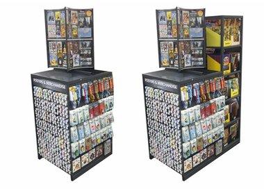 Power Rack 80 + Merchandise panel