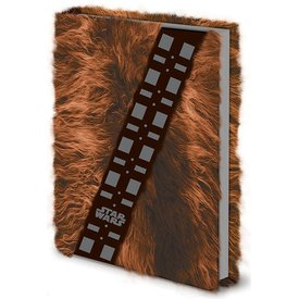 Star Wars Chewbacca Fur - Premium A5 Notebook