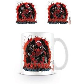 Deadpool Smoking Gun - Mug