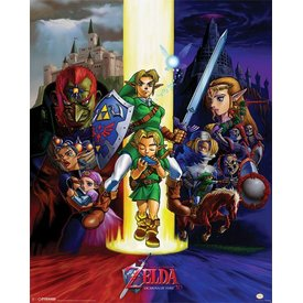 The Legend Of Zelda Ocarina Of Time - Mini Poster