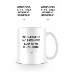 Johan Cruijff Uitleg - Mug