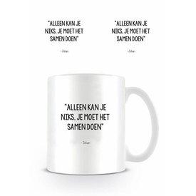 Johan Cruijff Samen - Mug