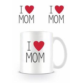 I Love Mom - Mug